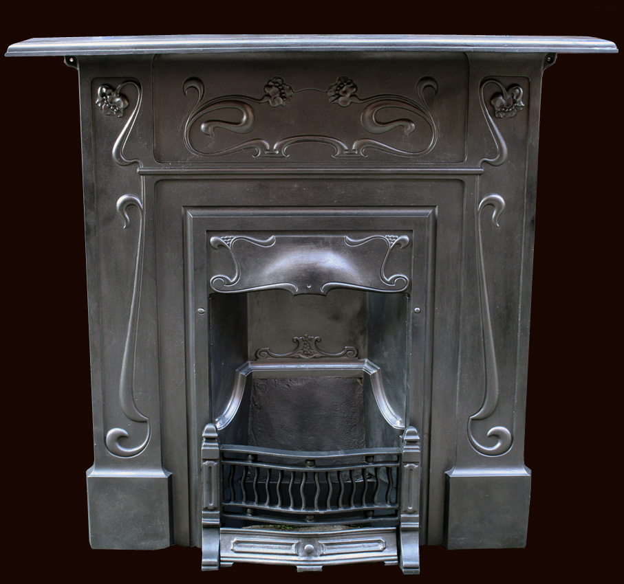 Antique Combination Fireplaces