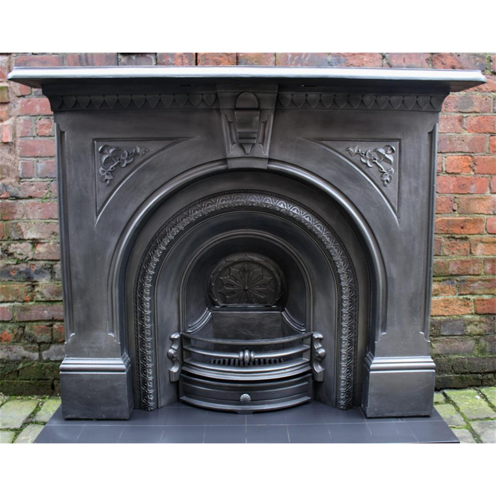 Victorian Fire Surround In Cast Iron Cast Iron Fire Surround