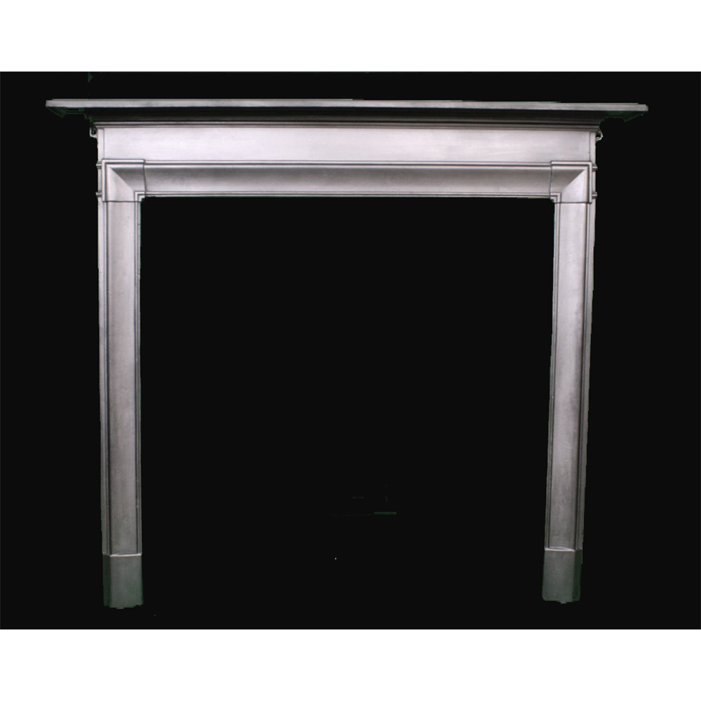 Edwardian Fire Surround In Cast Iron Cast Iron Edwardian Fire Surround