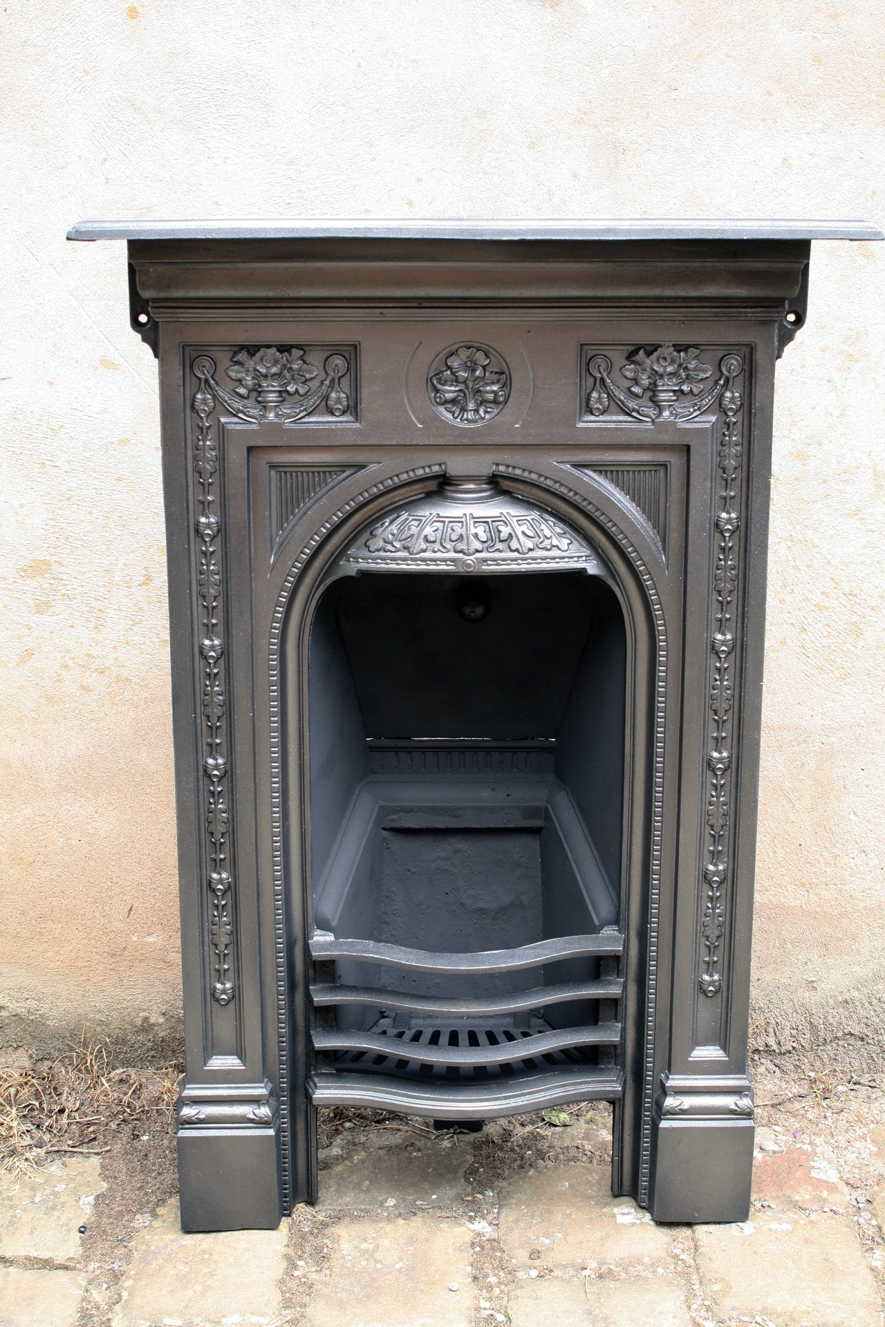 Victorian Combination Grate In Cast Iron The Primrose