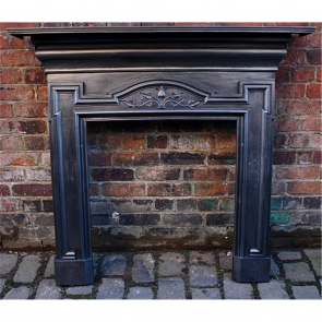 Edwardian Fire Surround In Cast Iron Arts & Crafts
