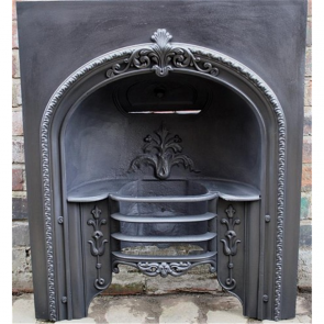 Early Victorian Hob Grate In Cast Iron
