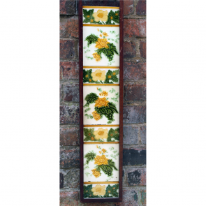 Edwardian Fireplace Tiles In Ceramic Art Nouveau Fireplace Tiles