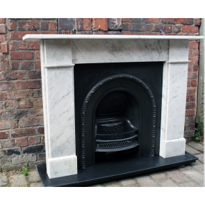 Late Victorian Marble Fire Surround