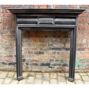 Victorian Coalbrookdale Reclaimed Cast Iron Fire Surround