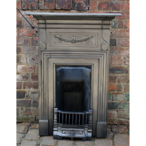 Old Antique Coalbrookdale Foundry Bedroom Fireplace