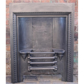Victorian Hob Grate In Cast Iron