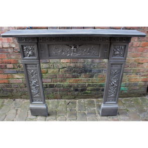 The Arts Late Victorian Cast Iron Fire Surround Cast Iron Fire Surrund The Arts